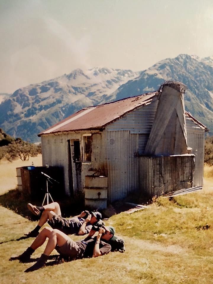 Jagthytte i New Zealand