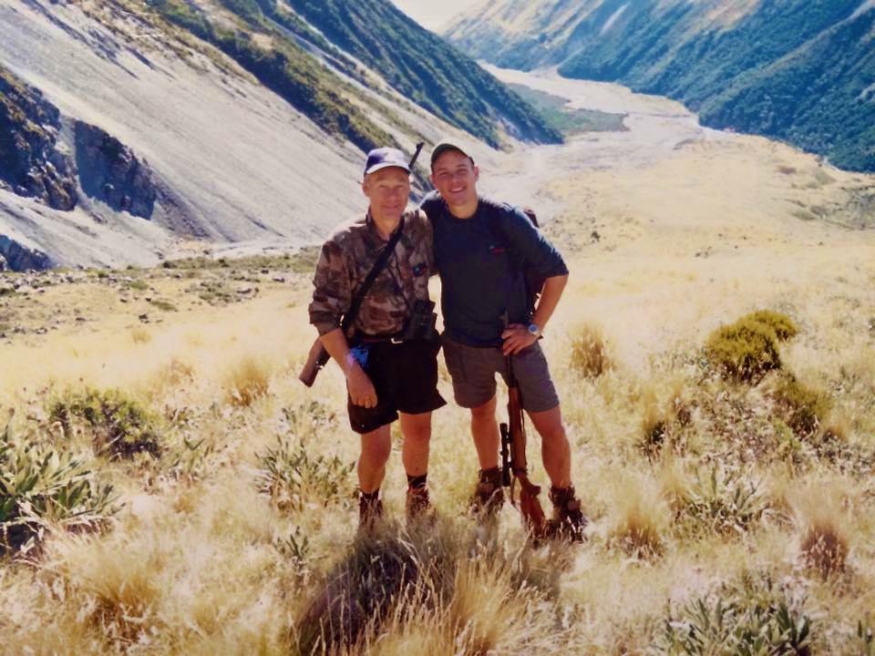 Far og jeg på tharjagt