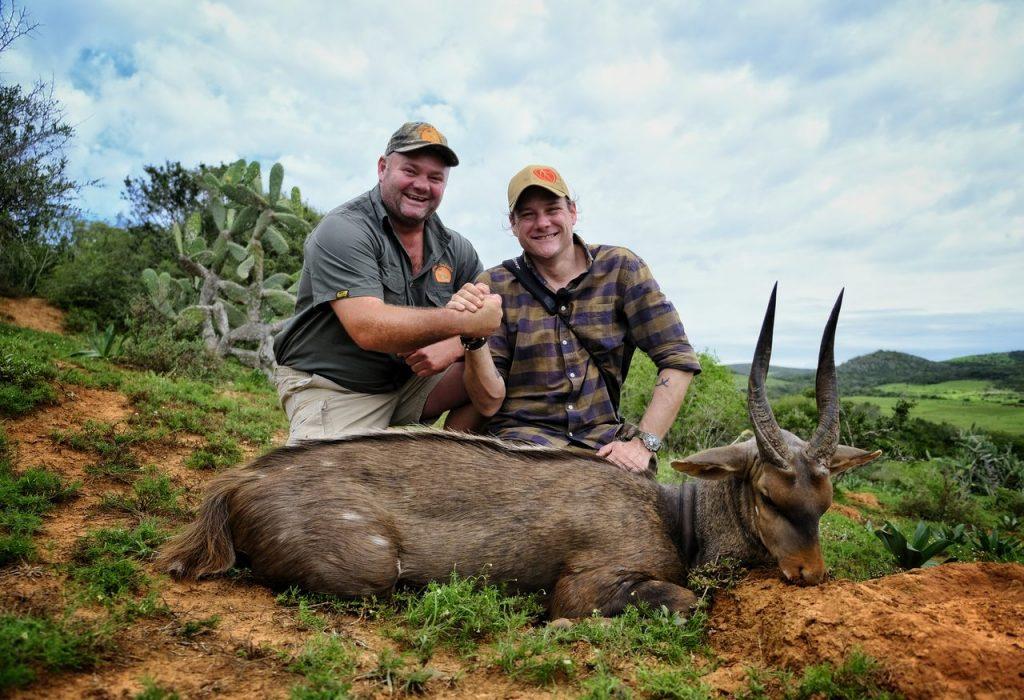 Bushbuckjagt i Eastern Cape