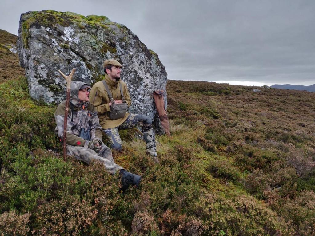 Hjortejagt i Skotland