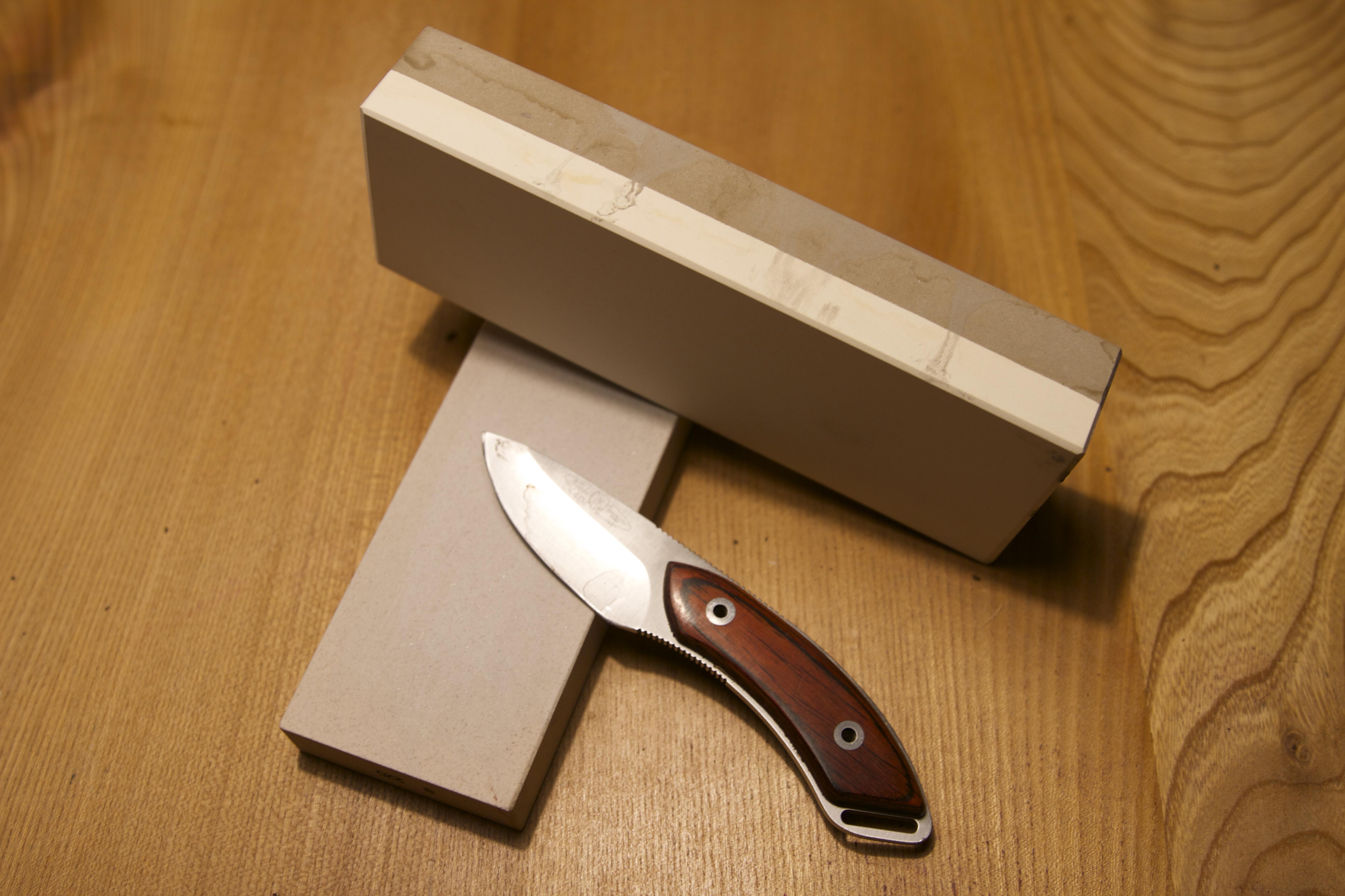 En rost skarp som en kniv