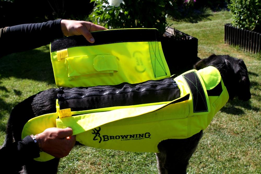 Browning kevlar vest