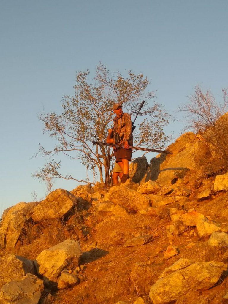 Kudujagt i Namibia