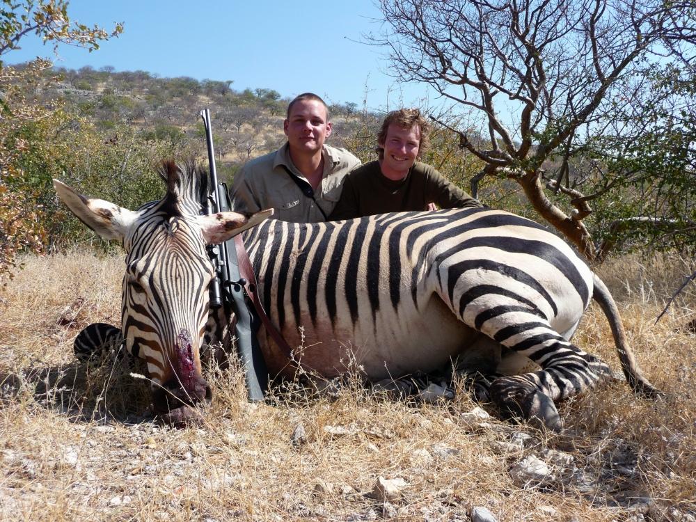 Jagt i Namibia