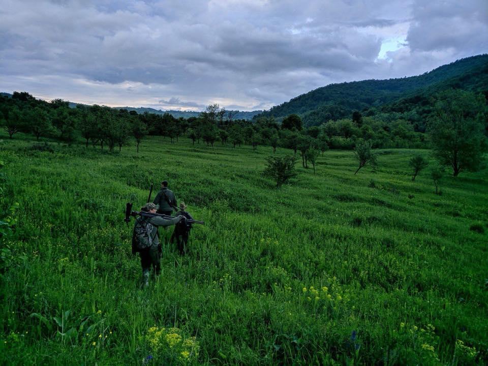 Bukkejagt i Rumænien