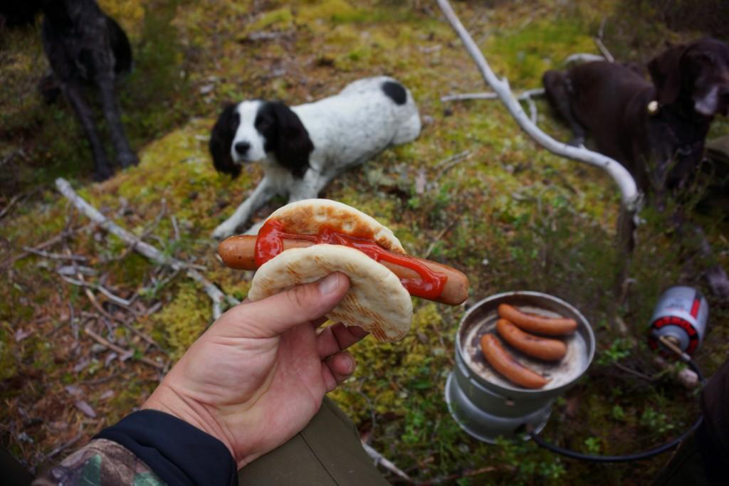 Frokost i skoven
